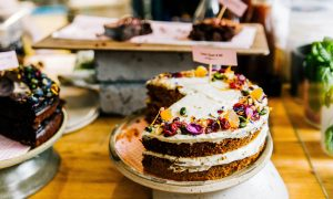 baked-cake-with-candies-on-top-709841